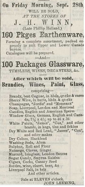 21-1855 sept 26 -Auction Canada glass wi