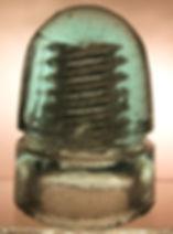 double threaded insulator