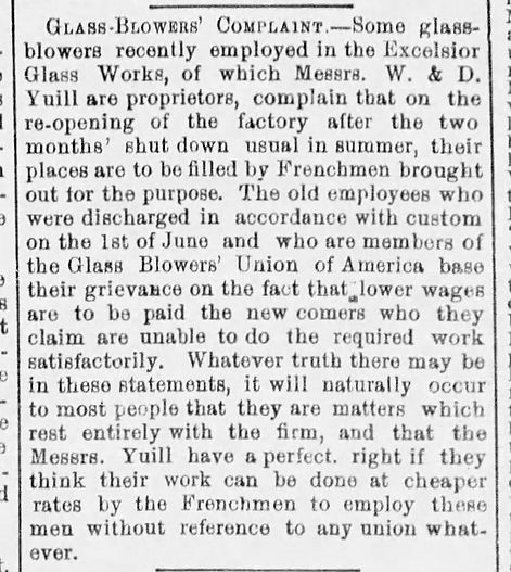 Excelsior Glass workers complaint The_Ga