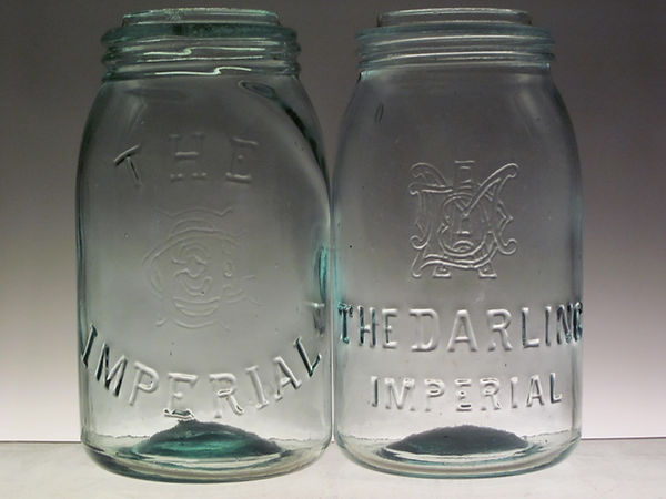 excelsior glass company fruit jar