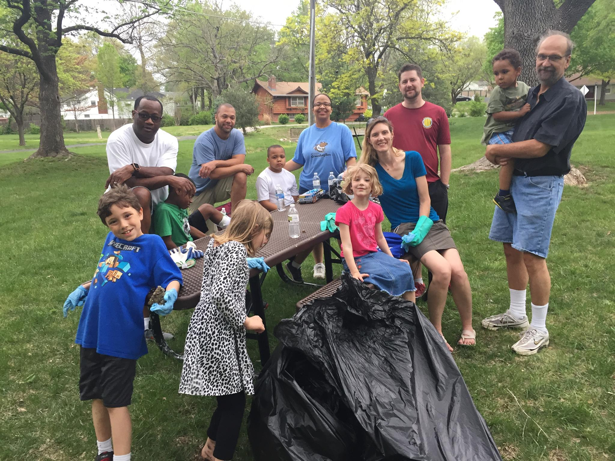 Spring park cleaning