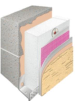 утепление стен пенопластом