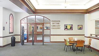 Friends of the Library art gallery