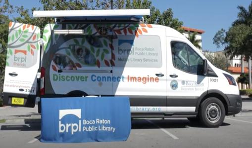 Library mobile van