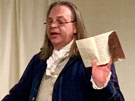 Finding A Founder: Historic Interpreter Series Featuring Benjamin Franklin