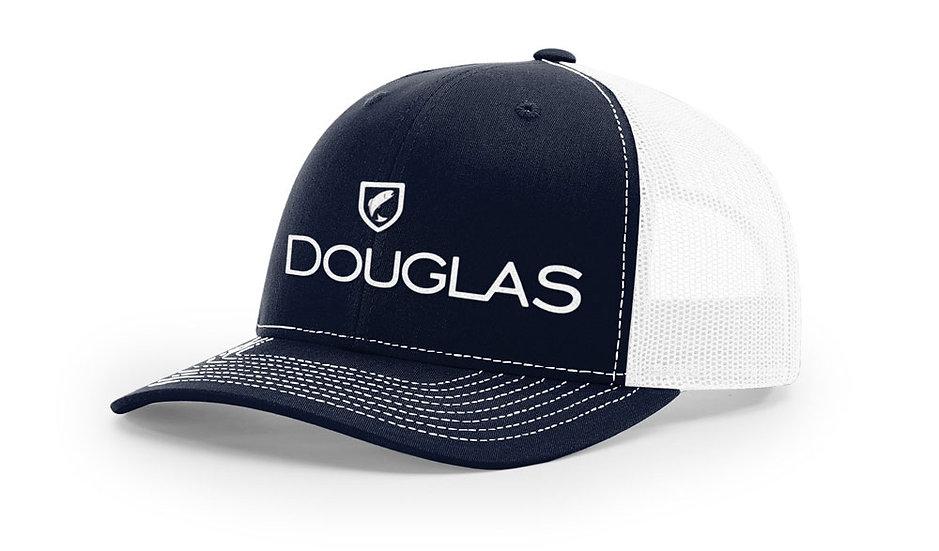 Douglas Cap - Navy Trucker