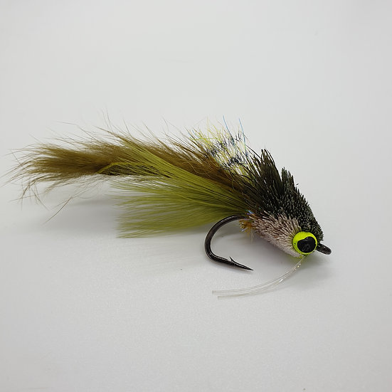 Deerskin Muishond Two Tone Olive