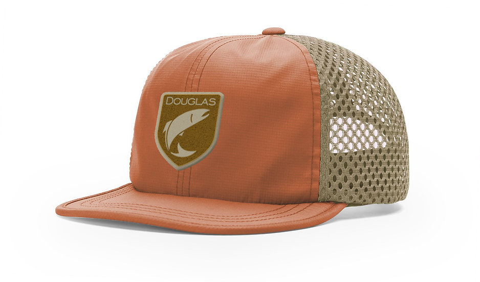 Douglas Cap - Orange Khaki Wicker