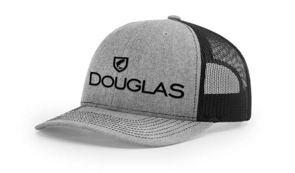 Douglas Cap - Grey and Black High Crown
