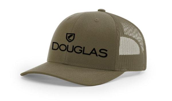 Douglas Cap - Army Green High Crown