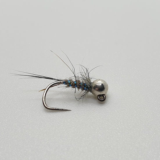 Tungsten Silver Back Jig Nymph