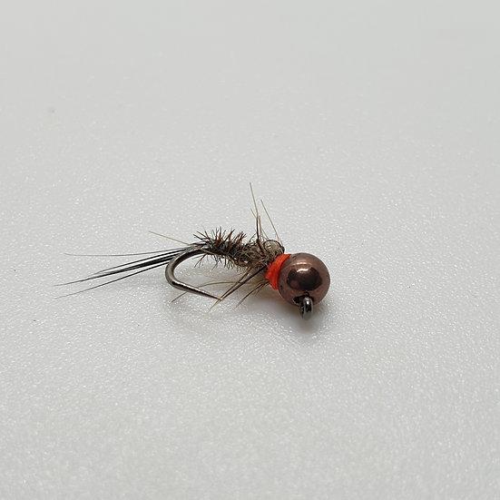Tungsten Brown Hot Collar Nymph
