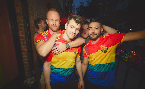 5 USA NY RUMBLERS - first openly gay soc