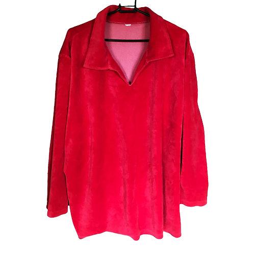 RED 90s FLEECE (L)