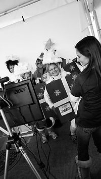 Wendy Clicks for a Cause Charity 5K Photo Booth