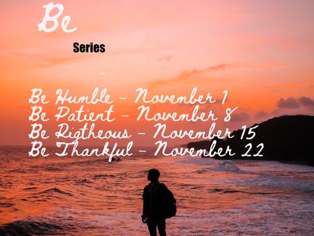 New Series for November!