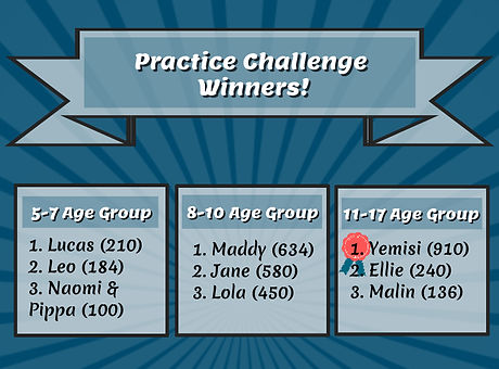 October Practice Challenge