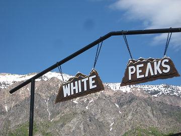 White Peaks Entrance Gate