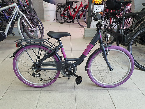 """BikeFun Blizz 22"""" Paars"""