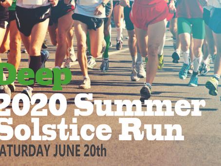 DEEP PHYSIO SUMMER SOLSTICE RUN  June 20th 2020