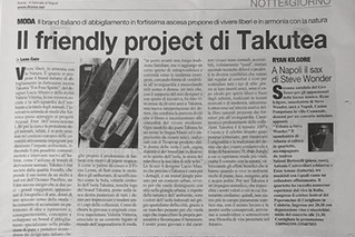 Il friendly project di Takutea