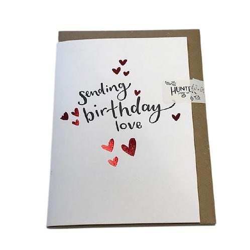 Birthday card- Hunter Paper Co