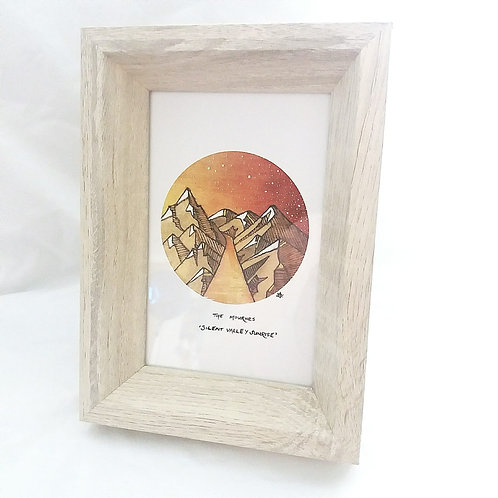 "Pyrography Prints (6""x4"") by Angela Gillen"