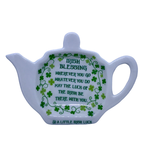 Irish tea bag rest