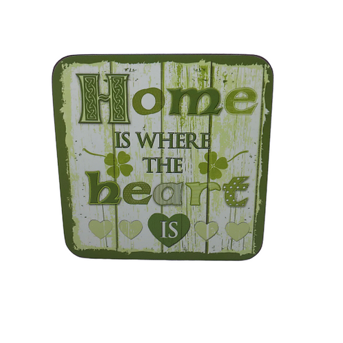 Irish souvenir coasters