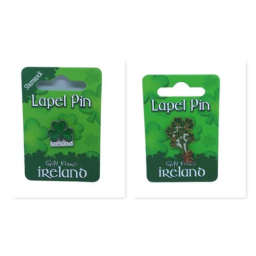 Irish souvenir lapel pin