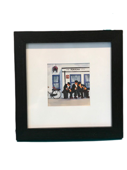 Framed print of Fearons pub