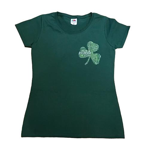 Shamrock T-shirt- Ladies Fit