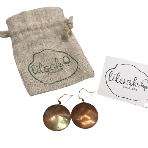 Handmade Copper Earrings
