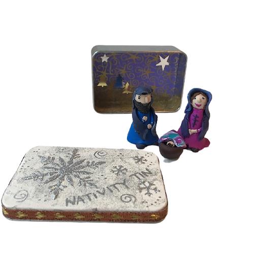 Nativity in a Tin
