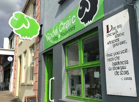 A day in the life of a shop owner [aka behind the scenes in Good Craic gifts]