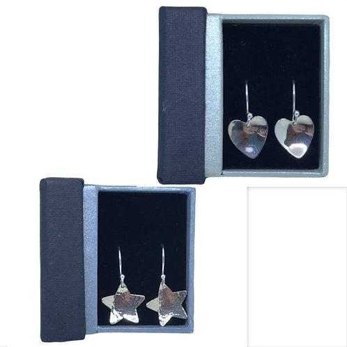 Stirling silver earrings by SimplyN
