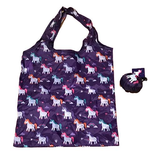 Reuseable bag- Unicorn or Narwhal design