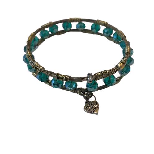 Guitar string bracelets- fancy