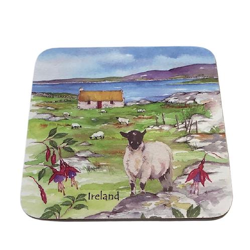 Irish coaster- Harvest Pictorial