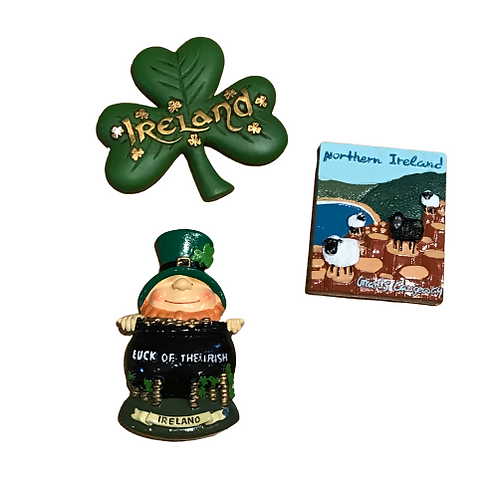 Magnets- Leprechaun, Shamrock or Giants Causeway