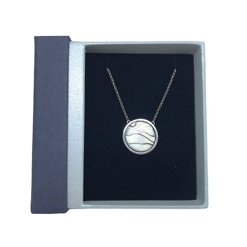 Stirling Silver Mourne Pendant by SimplyN