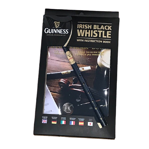 Guinness Irish Whistle and book