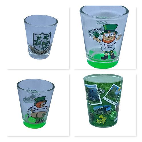 Irish souvenir shotglass