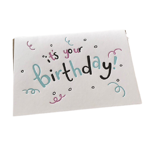 Birthday cards- Hunter Paper Co