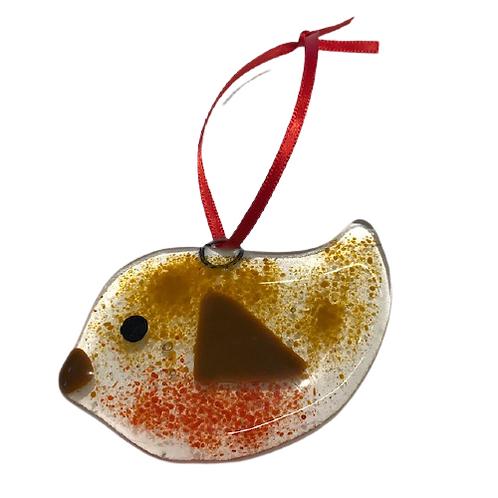Ballybrick Glass Robin