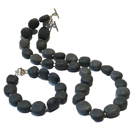 Ballybrick necklace with matching bracelet