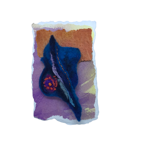 Felt Brooch handcrafted by Florence HeyHoe