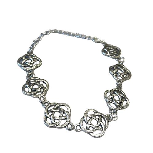 Celtic knot metal bracelet by Ballybrick