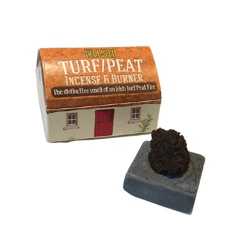 Turf Peat Incense Cottage Box