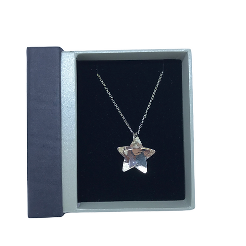 Stirling Silver Star pendant by SimplyN
